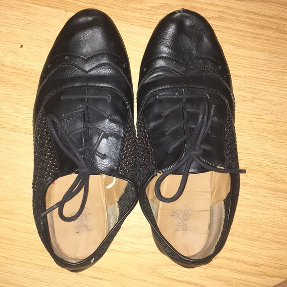 Black Poppy Shoes   Cute Black Dress